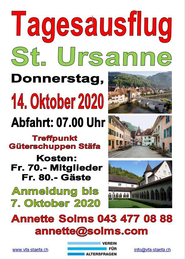 Flyer St. Ursanne